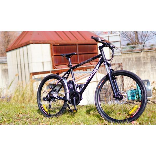 [電動自転車xマウンテンバイク] グリッサード 26インチ 人気のスポーツ系電動自転車 リチウムイオンバッテリー 電動とMTBを両方楽しめる|rakusuku|08