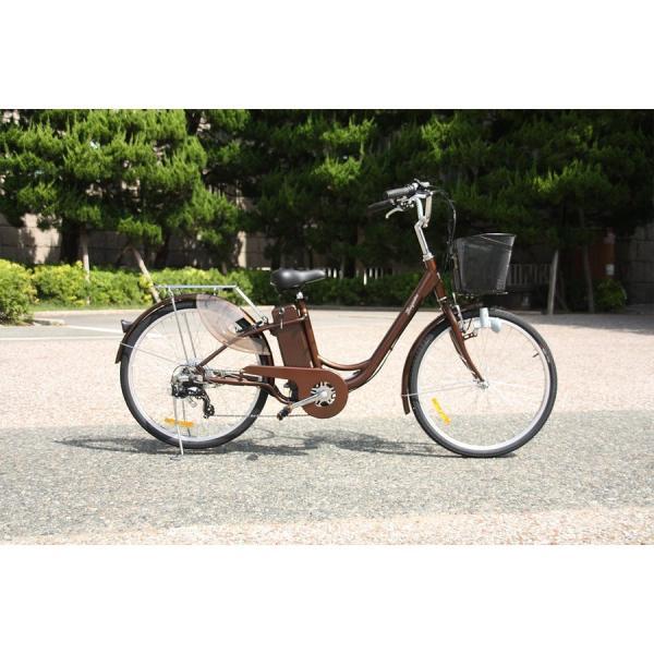 電動自転車 パッセ-L 26インチ 電動アシスト自転車 子供乗せ 安いだけじゃない おしゃれ 低サドル rakusuku 06