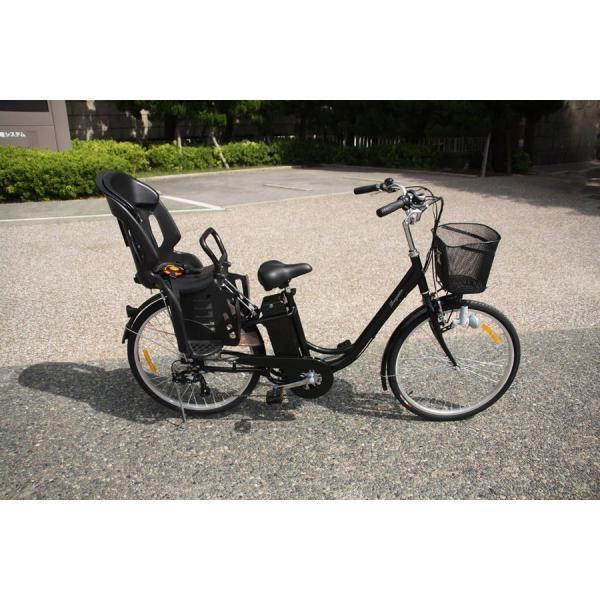 ポイント5倍!電動自転車 パッセL 26インチ 安いだけじゃない おしゃれ 低サドル 子供乗せ コスパが良い rakusuku 07