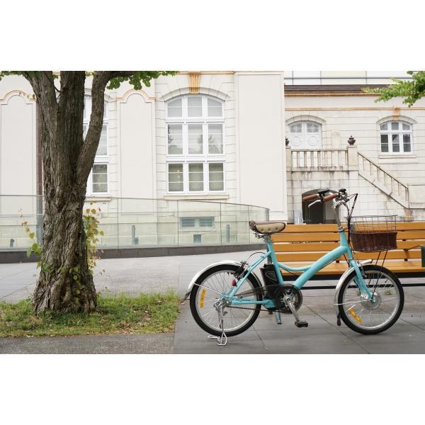 【防犯登録付き組立完成車がお得!】電動自転車 ピルエット 20インチ | 電動アシスト自転車 ちいさい かるい かわいい|rakusuku|09