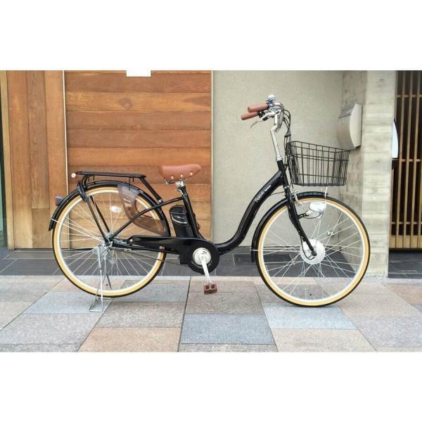[いま通勤買物に最適]電動自転車おしゃれ ルルベ 26インチ リチウムイオンバッテリー 子供乗せ 安いだけじゃない おしゃれ 低サドル 乗りやすい rakusuku 12