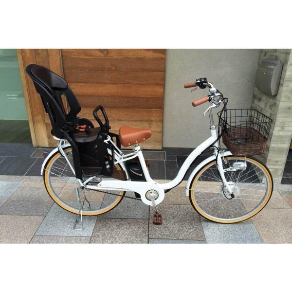 [いま通勤買物に最適]電動自転車おしゃれ ルルベ 26インチ リチウムイオンバッテリー 子供乗せ 安いだけじゃない おしゃれ 低サドル 乗りやすい rakusuku 13