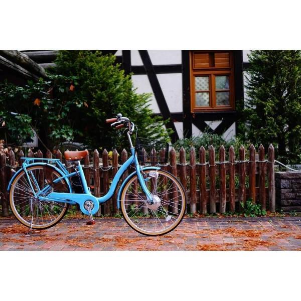 [いま通勤買物に最適]電動自転車おしゃれ ルルベ 26インチ リチウムイオンバッテリー 子供乗せ 安いだけじゃない おしゃれ 低サドル 乗りやすい rakusuku 15
