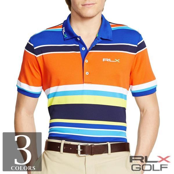 ▼最終価格▼RLX ゴルフ/ラルフローレン : Pro-Fit Multi-Striped Polo [速乾ストレッチ/半袖ポロシャツ]