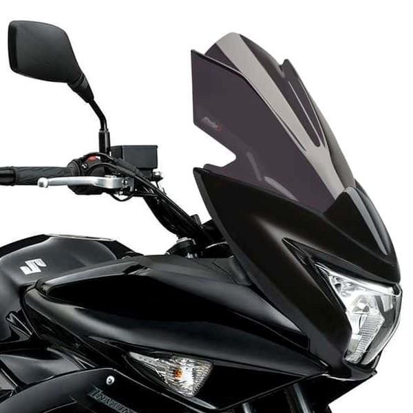 3mm Puig Racing Windscreen Black for 15-18 BMW S1000RR
