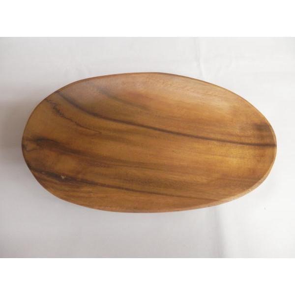 木製食器 木製プレート トレイ アカシア エッグ型トレイA 70188 94482 キッチン雑貨 食卓 食器 お洒落 おしゃれ|rankup|02