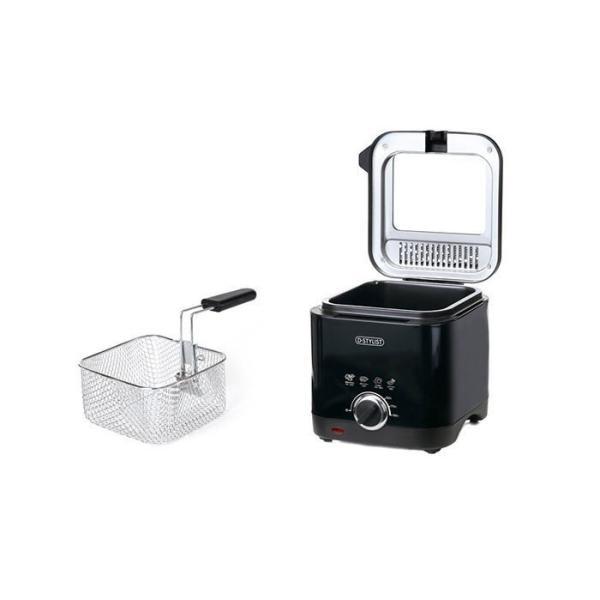 フライヤー 家庭用 卓上 スクエアフライヤー 1.5L 卓上キッチンフライヤー KK-00423 調理家電 揚げ物が手軽に作れる D-STYLIST|rankup|02