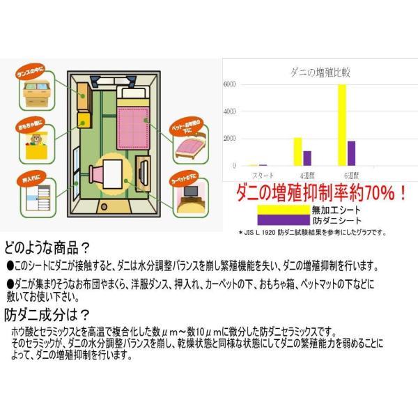 おそうじ屋さんの防ダニシート 12枚入 定形外郵便 送料無料|rankup|04
