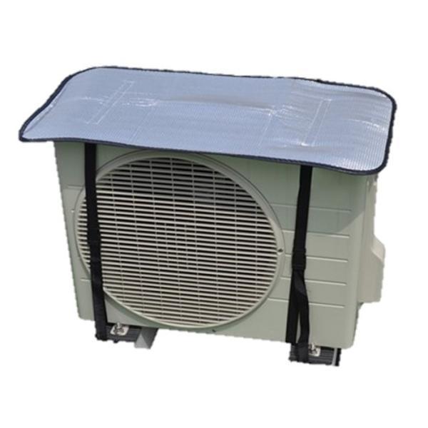 エアコン室外機保護カバー アルミ 電気代節約  日よけ シート パネル 節電 遮熱 サンカット 省エネ エコ 簡単取付 |rankup|02