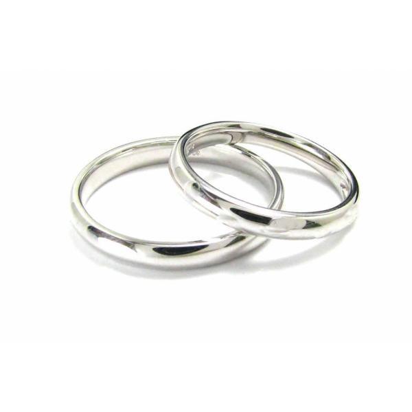 ペアリング マリッジリング プラチナ900 Pt900 結婚指輪 ペア販売 2本セット シンプルな地金のみのデザイン