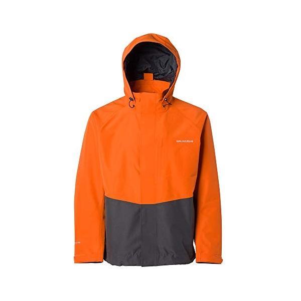 Grund〓ns Men's Downrigger Gore-Tex 2L Jacket, Burnt Orange - Large【並行輸入品】|rarahu-store|01