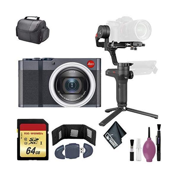 Zhiyun-Tech WEEBILL LAB Handheld Stabilizer - Leica C-Lux Digital Camera (Midnight Blue) - 64GB Case【並行輸入品】|rarahu-store|01