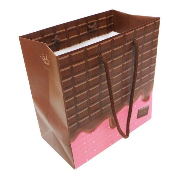 【送料無料&500円クーポン発行中!】エヒメ紙工 デザインペーパーバッグ Sサイズ 10枚パック チョコ CHO-S-10P|raramart