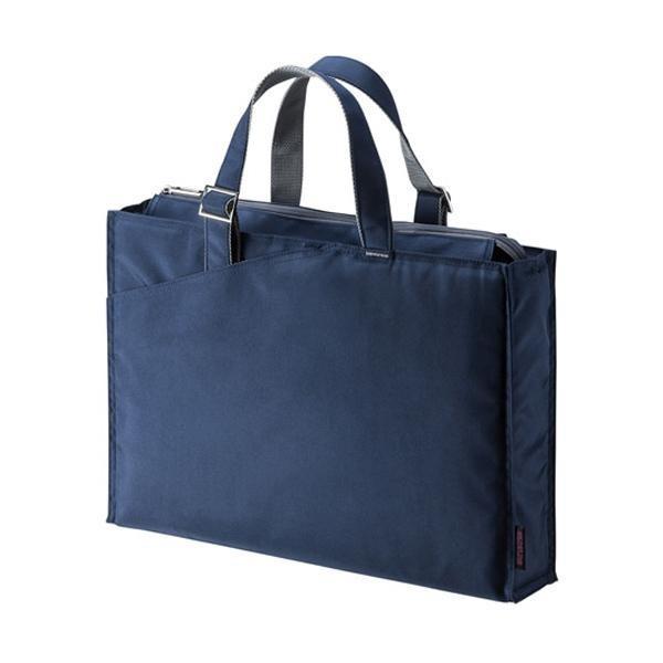 【&500円クーポン発行中!】サンワサプライ カジュアルPCバッグ(15.6ワイド対応・ネイビー) BAG-CA4NV