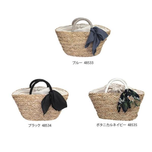 【送料無料&500円クーポン発行中!】kago bag シーグラス かごバッグ スカーフ付き