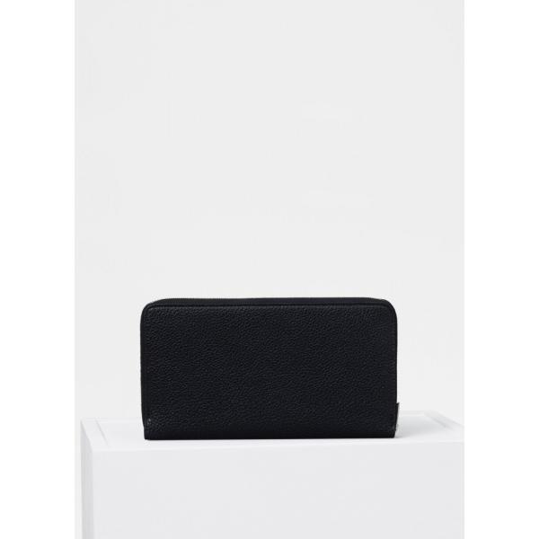 セリーヌ CELINE 財布 長財布 ラウンドファスナー  新作 ブラック 黒 レザー 本革 ラウンドジップ ロゴ バイカラー