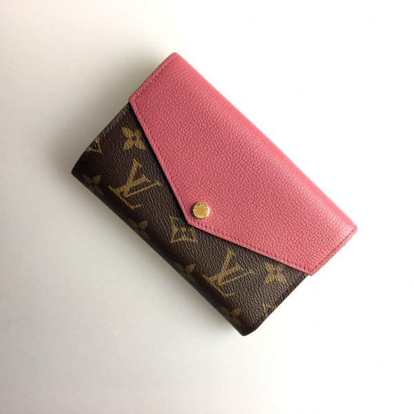 pretty nice 4d74b 70af6 ルイヴィトン LOUIS VUITTON 財布 中財布 2つ折り フラップ ...