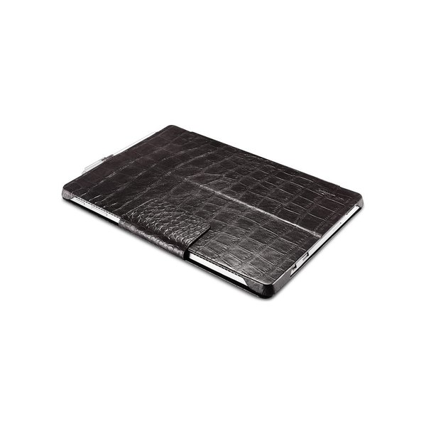 サーフェス プロ6 5 4  surface pro6 ケース カバー 本革 クロコダイル柄 ケース Surface Pro5 レザーケース クロコ型押し 手帳型 ICARER|raremogra|03