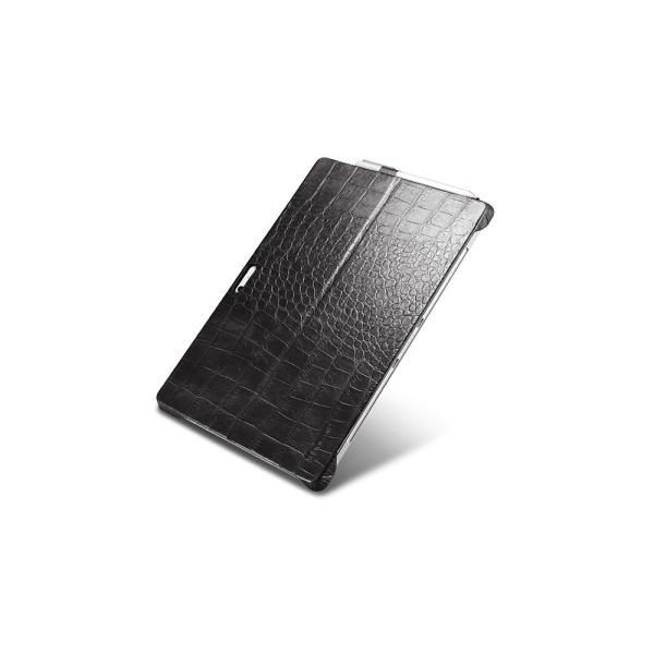 サーフェス プロ6 5 4 Surface Pro6 ケース カバー 本革 Microsoft surfacepro5 レザーケース クロコ型押し クロコダイル柄 ICARER|raremogra|03