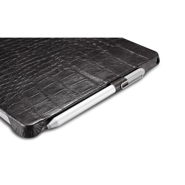サーフェス プロ6 5 4 Surface Pro6 ケース カバー 本革 Microsoft surfacepro5 レザーケース クロコ型押し クロコダイル柄 ICARER|raremogra|06