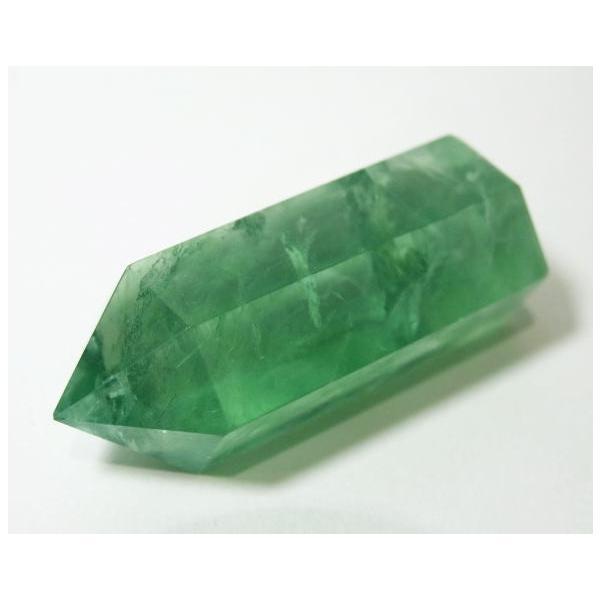 フローライト ポイント 63g 蛍石 パワーストーン 蛍光 緑色 P0628|rarestone|05