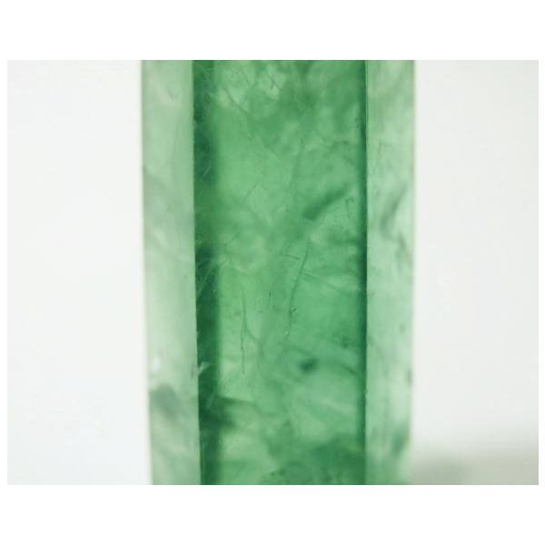 フローライト ポイント 63g 蛍石 パワーストーン 蛍光 緑色 P0628|rarestone|07