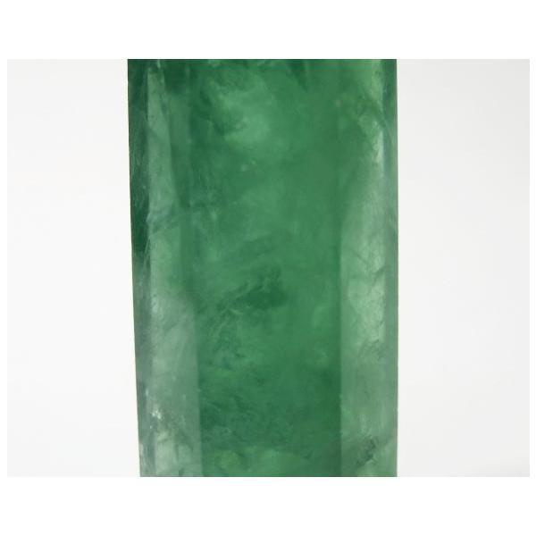 フローライト ポイント 90g パワーストーン 蛍石 蛍光 P0630|rarestone|07