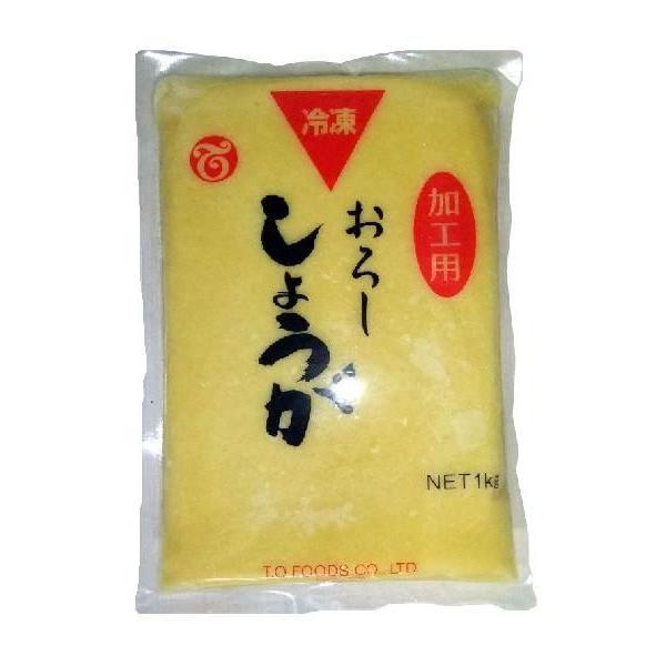 【冷凍便】テーオー 加工用冷凍おろししょうが1kg