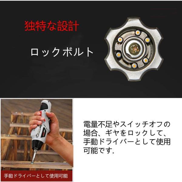 赤字販売 送料無料 Firecore電動ドライバーセット 充電式 コードレス 正逆転切り替え 電池残量表示46本ビット rashiniko 03
