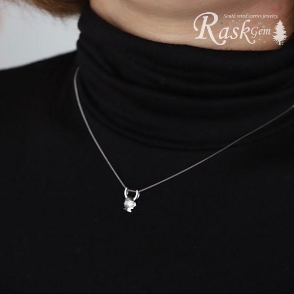 シルバー ひこにゃんネックレス silver 【ひこにゃん公式】|rask-gem|03