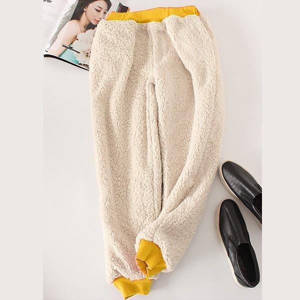 パンツ レディース 裏起毛 ズボン スウェット ルームウェア 大きいサイズ シンプル 無地 ^b193^|raspberryy|02