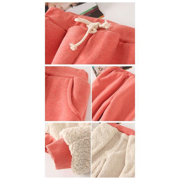 パンツ レディース 裏起毛 ズボン スウェット ルームウェア 大きいサイズ シンプル 無地 ^b193^|raspberryy|13