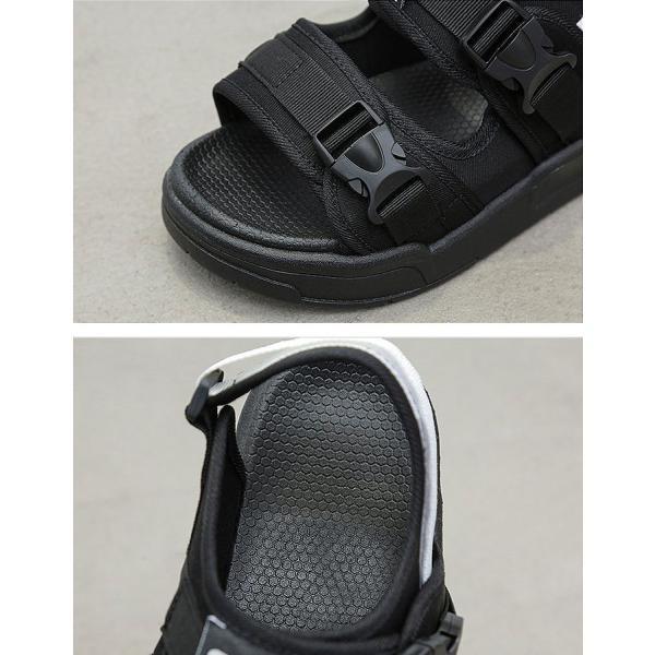 サンダル レディース おしゃれ 大きいサイズ 厚底 ベルクロ スポーツ スポサン ^bo-591^|raspberryy|13