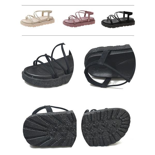 サンダル レディース 厚底 フラット コンフォートサンダル 歩きやすい 韓国 履きやすい おしゃれ カジュアル シューズ ^bo-690^|raspberryy|15