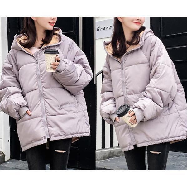 アウター レディース コート 中綿 暖かい ゆったり 大きいサイズ 軽い 韓国 おしゃれ^jk115^|raspberryy|15