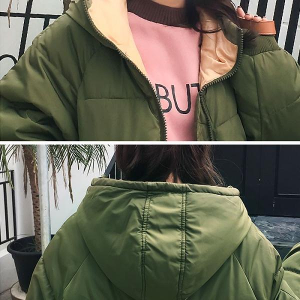 アウター レディース コート 中綿 暖かい ゆったり 大きいサイズ 軽い 韓国 おしゃれ^jk115^|raspberryy|19