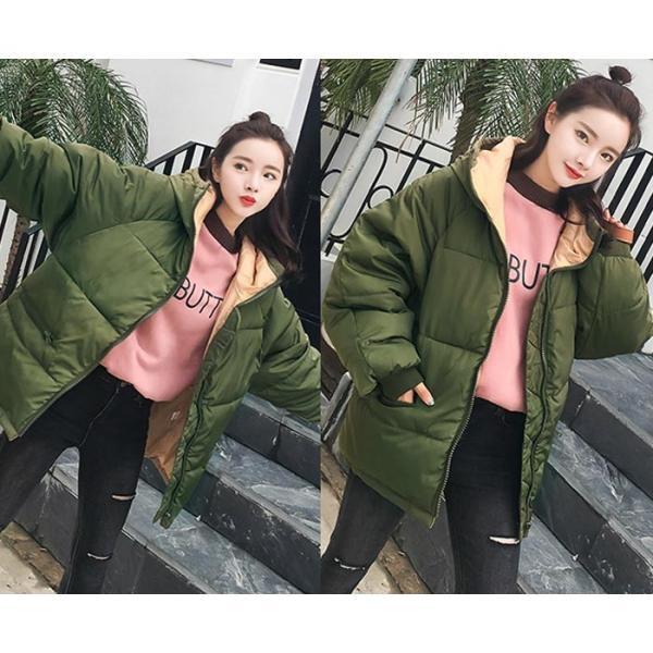 アウター レディース コート 中綿 暖かい ゆったり 大きいサイズ 軽い 韓国 おしゃれ^jk115^|raspberryy|08