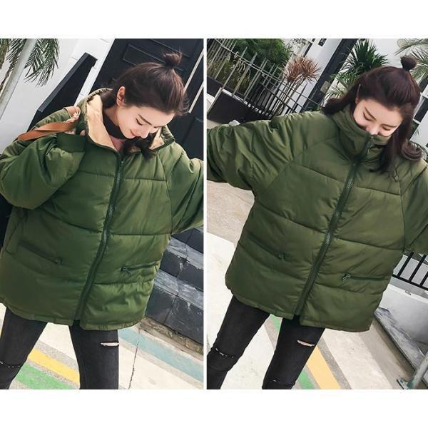 アウター レディース コート 中綿 暖かい ゆったり 大きいサイズ 軽い 韓国 おしゃれ^jk115^|raspberryy|09