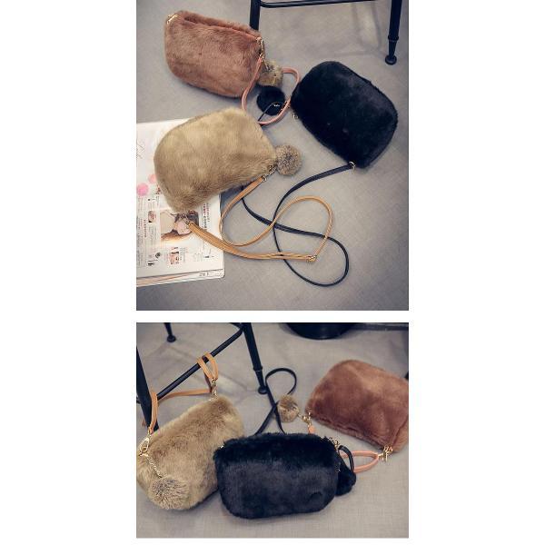 ショルダーバッグ  レディース 小さめ 斜め ファー クラッチバッグ バッグ BAG 鞄  (ka-122)|raspberryy|13