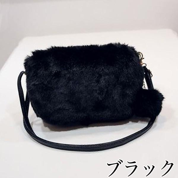 ショルダーバッグ  レディース 小さめ 斜め ファー クラッチバッグ バッグ BAG 鞄  (ka-122)|raspberryy|06
