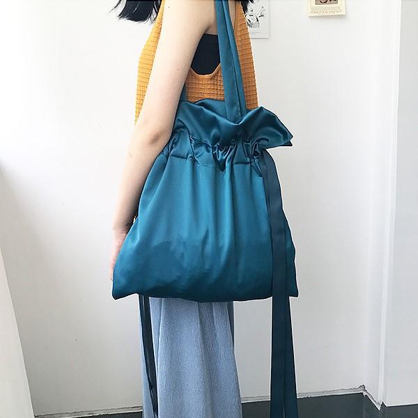 エコバッグ コンビニ レディース メンズ 巾着ショルダーバッグ 巾着バッグ リボン バッグ かばん 鞄 おしゃれ かわいい おすすめ ^ka-149^|raspberryy|11