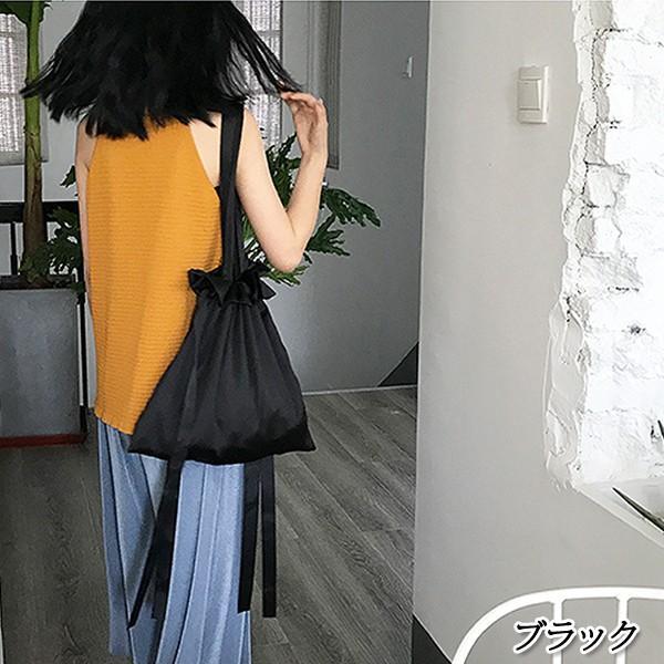 エコバッグ コンビニ レディース メンズ 巾着ショルダーバッグ 巾着バッグ リボン バッグ かばん 鞄 おしゃれ かわいい おすすめ ^ka-149^|raspberryy|12