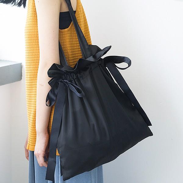 エコバッグ コンビニ レディース メンズ 巾着ショルダーバッグ 巾着バッグ リボン バッグ かばん 鞄 おしゃれ かわいい おすすめ ^ka-149^|raspberryy|13