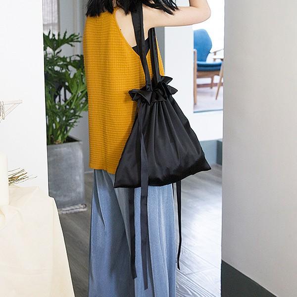 エコバッグ コンビニ レディース メンズ 巾着ショルダーバッグ 巾着バッグ リボン バッグ かばん 鞄 おしゃれ かわいい おすすめ ^ka-149^|raspberryy|14