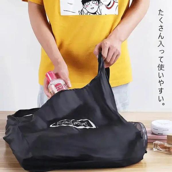 エコバッグ トートバッグ ショルダーバッグ 大容量 撥水加工 コンパクト 折りたたみ バッグ かばん 鞄 レディース ^ka-162^|raspberryy|09