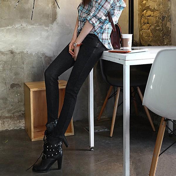 美脚 デニム レディース パンツ スキニー レギパン スキニーパンツ ボトムス 大きいサイズ (sh-426)(メール便送料無料)|raspberryy|08