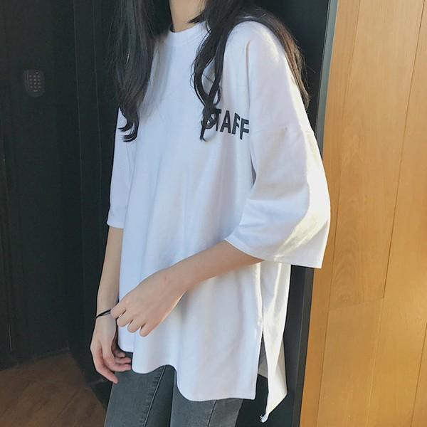 カットソー Tシャツ ロゴ バックプリント 大きいサイズ オーバーサイズ トップス レディース (t431)(Pr)(メール便送料無料) raspberryy 02