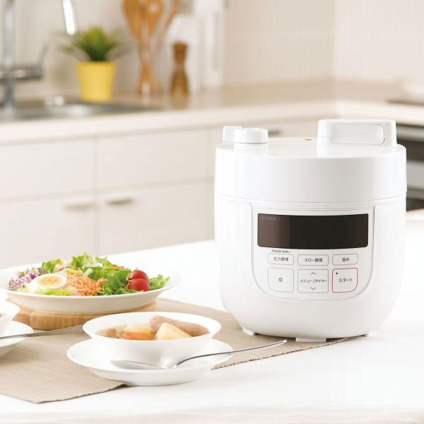 シロカ siroca 電気圧力鍋 ホワイト SP-D131(W) 時短調理 無水調理 圧力調理 簡単で美味しい煮物作りに!送料無料|rasta|08