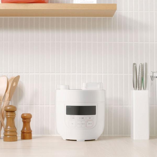 シロカ siroca 電気圧力鍋 ホワイト SP-D131(W) 時短調理 無水調理 圧力調理 簡単で美味しい煮物作りに!送料無料|rasta|09