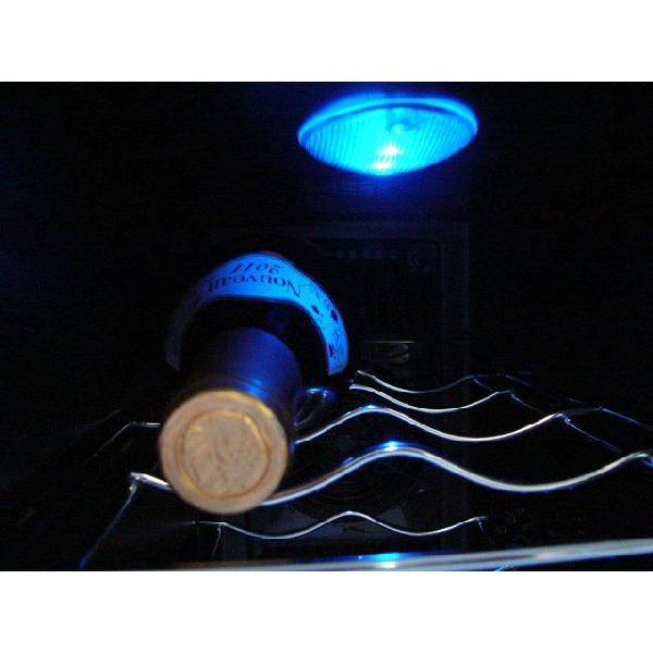 ワインセラー 家庭用ワインセラー ワインクーラー 12本収納 温度調節 縦型 スリム ワイン収納庫 ※代引き不可|rasta|04